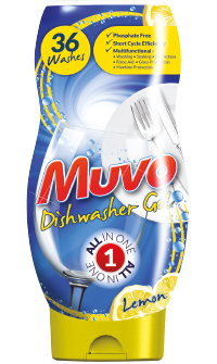 Muvo Lemon Dishwasher Gel