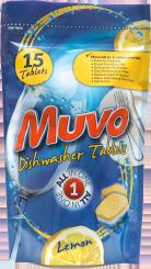 Muvo Dishwasher Tabs Lemon